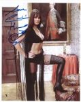 "Caroline Munro signed 10 x 8 star of ""Dracula"", Sinbad, Bond #5A"